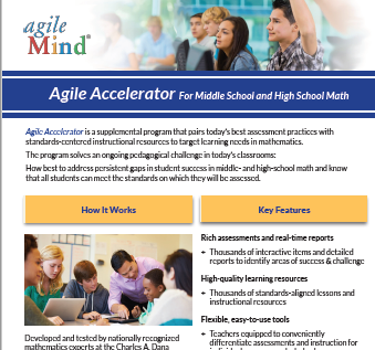 Agile Accelerator Fact Sheet