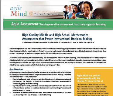 Agile Assessment Fact Sheet