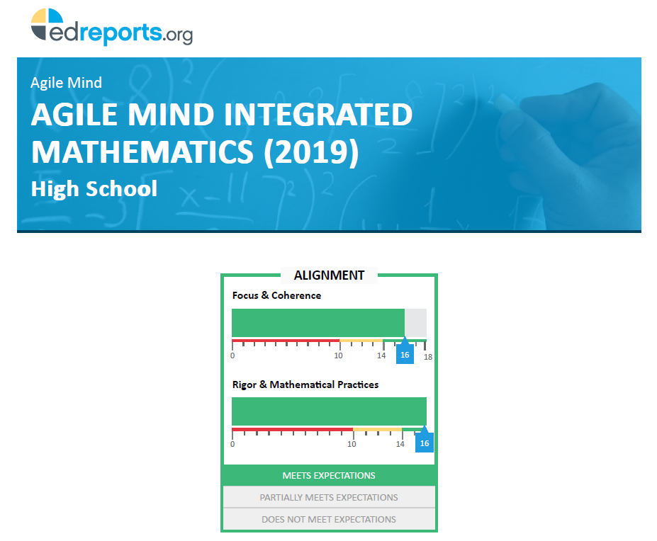 Agile Mind Integrated Report