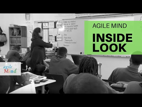 Agile Mind in the Classroom: Algebra I