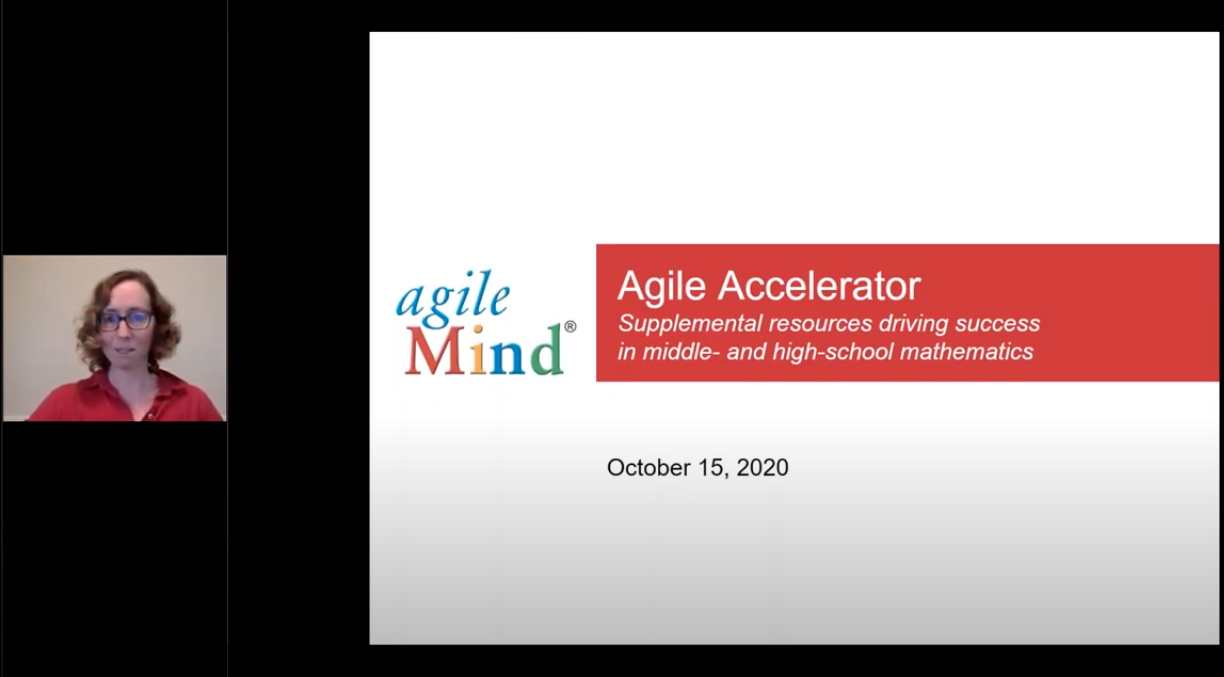 Agile Accelerator 10.15.20 Supplemental & Intervention Math Materials for grades 6-12