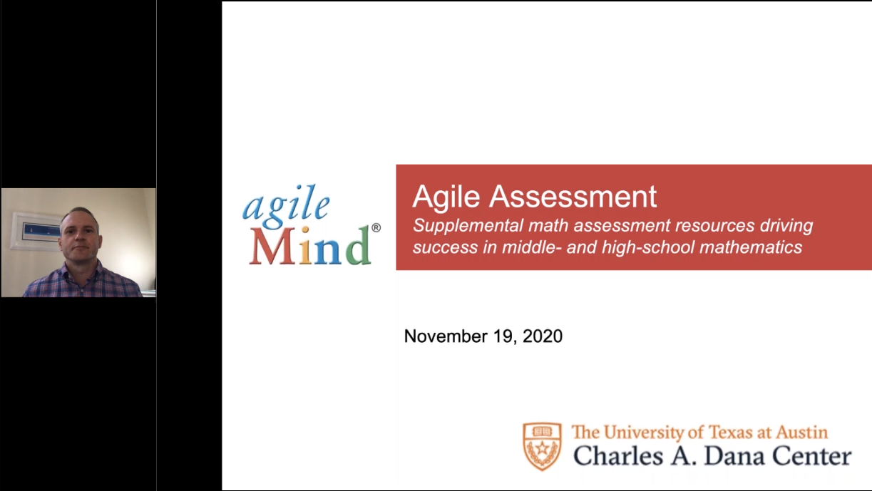 Address Learning Loss with Agile Assessment 11.2020