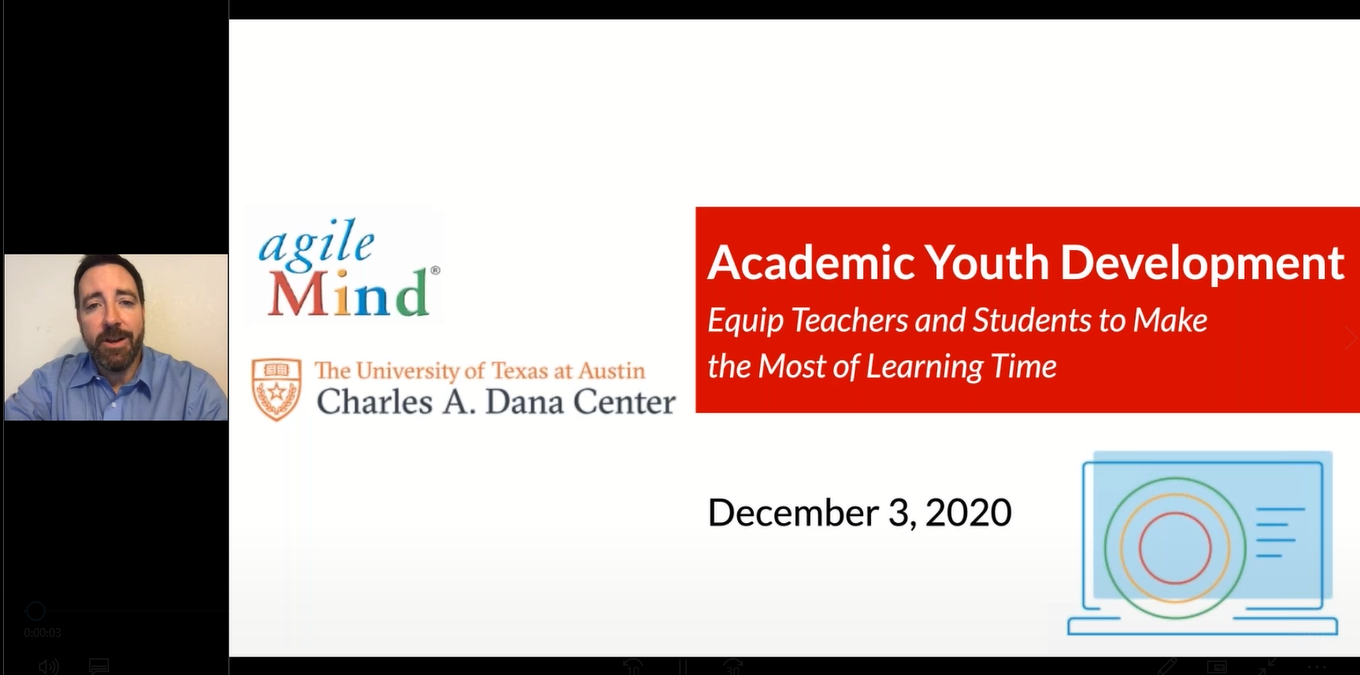 Academic Youth Development: Equip Teachers and Students to Make the Most of Learning Time 12.2020